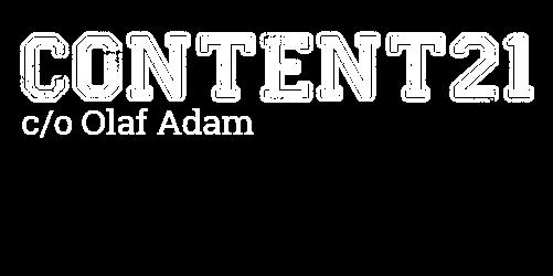 Content21 c/o Olaf Adam